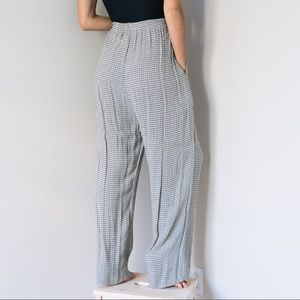 Vintage 80s High Waisted Wide Leg Pants Small S